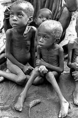 La Chiesa e la fame nel mondo