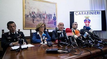 conferenza stampa Cerciello 2