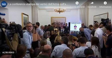 conferenza stampa Cerciello