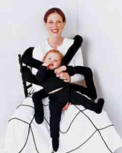 Costumi originali - Bambino Ragno e mamma ragnatela