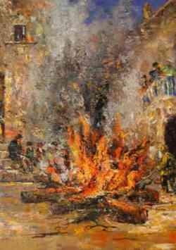 Epifania - il falò di Hero Paradiso