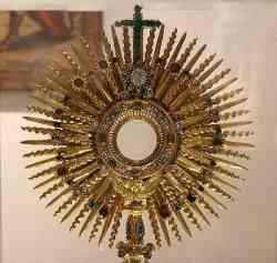 Epifania - Corona radiata del Sole - Ostensorio