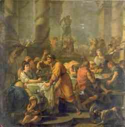 Epifania - Saturnali di Antoine-Francois Callet