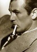 Imitazione gary cooper con sigaretta