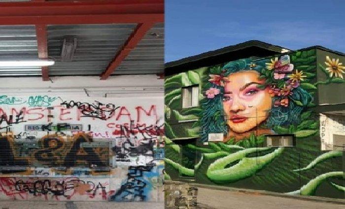 non chiamiamola arte dipinti contro graffiti
