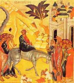Domenica delle Palme - Iconografia