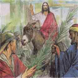 Domenica delle Palme - Gesù osannato