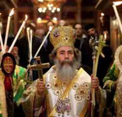 Domenica delle Palme in una Chiesa Ortodossa