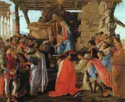 Adorazione dei Magi di Sandro Botticelli