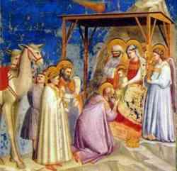 Adorazione dei Magi di Giotto
