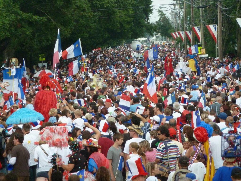 Acadian Day in Canada a Ferragosto