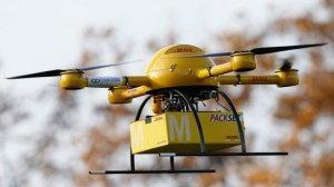 Consegna pacchi a domicilio via drone