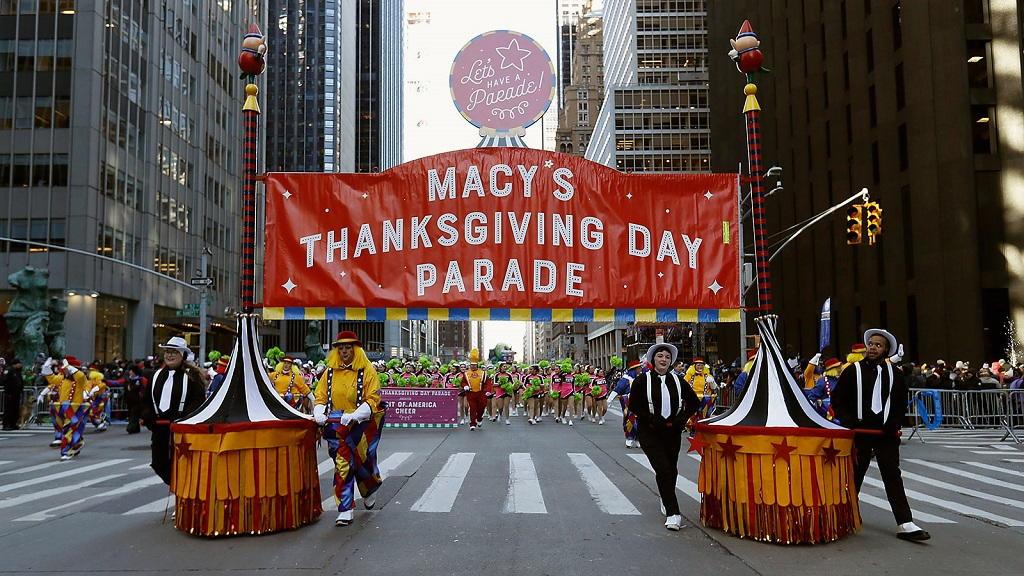 Parata del giorno del ringraziamento