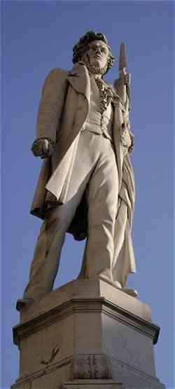 Storia d'Italia Monumento a Ciro Menotti