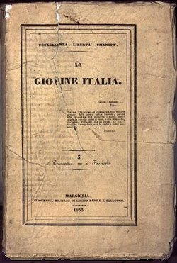 Storia d'Italia Rivista Giovane Italia