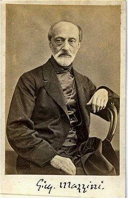 storia d'Italia Giuseppe Mazzini