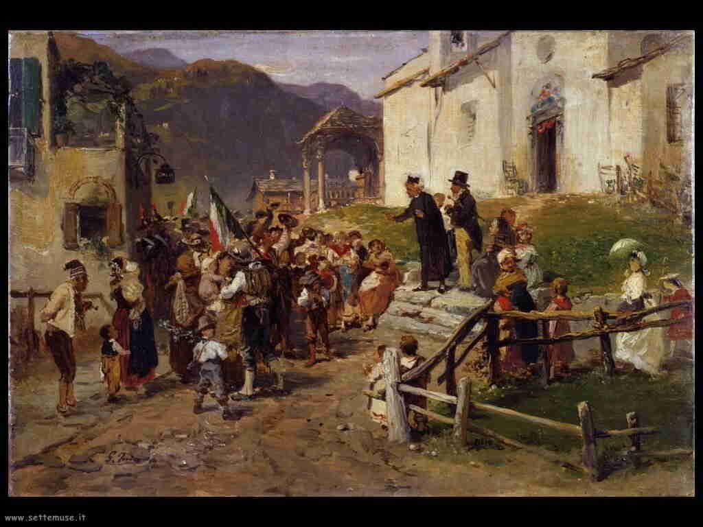 storia italia la_partenza_girolamo_induno