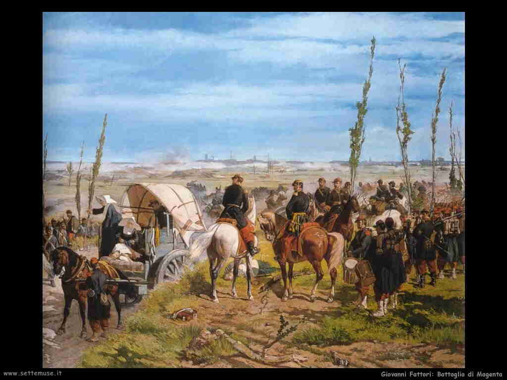 storia italia battaglia_magenta_giovanni_fattori