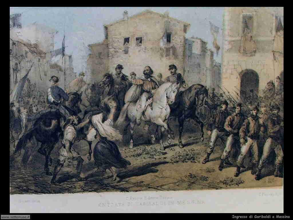 Ingresso di Garibaldi a Messina