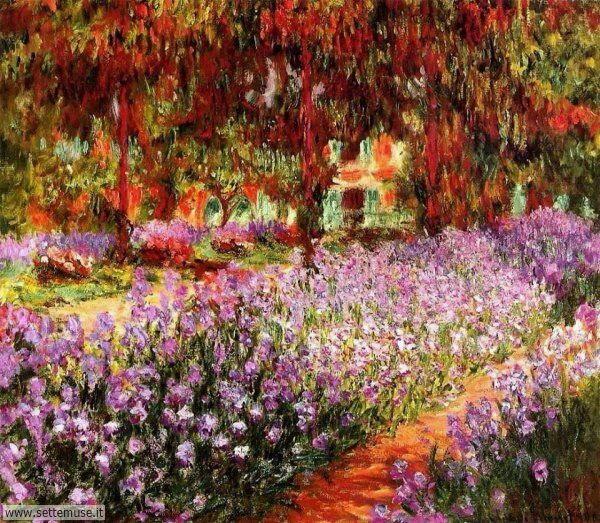 borghi fioriti Claude Monet