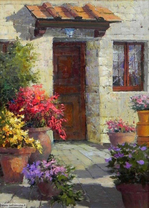 borghi fioriti Eric Wallis