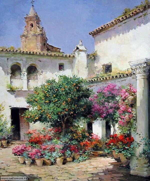 borghi fioriti Manuel Fernandez Garcia