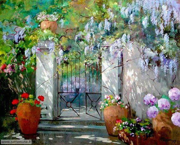 borghi fioriti Maria Serafina
