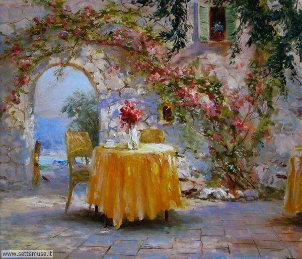 borghi fioriti Nikolay Komarov