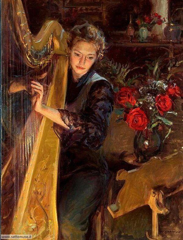 donne eleganti e musiciste Daniel F.Gerhartz-3