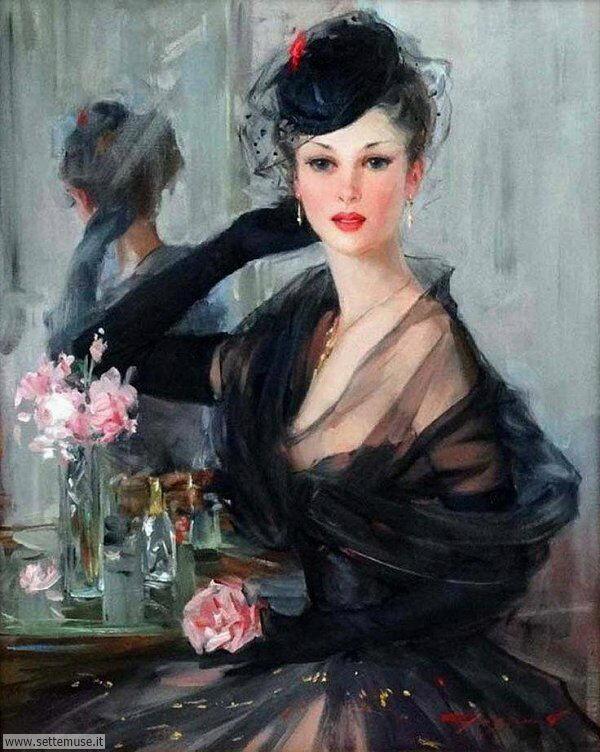 donne eleganti e musiciste Konstantin Razumov-6