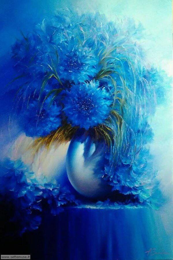 vasi di fiori Andrei Ivanovich Boravik