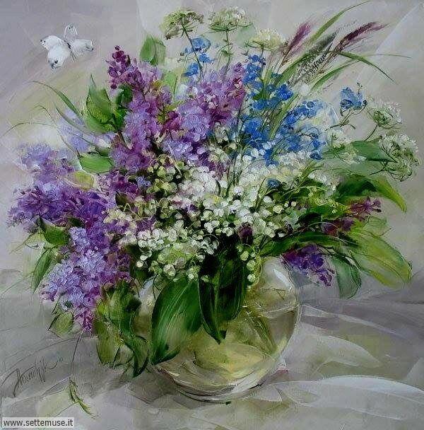 vasi di fiori Anna Homchik