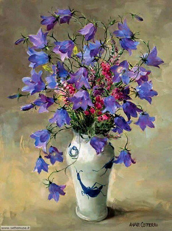 vasi di fiori Anne Cotterill
