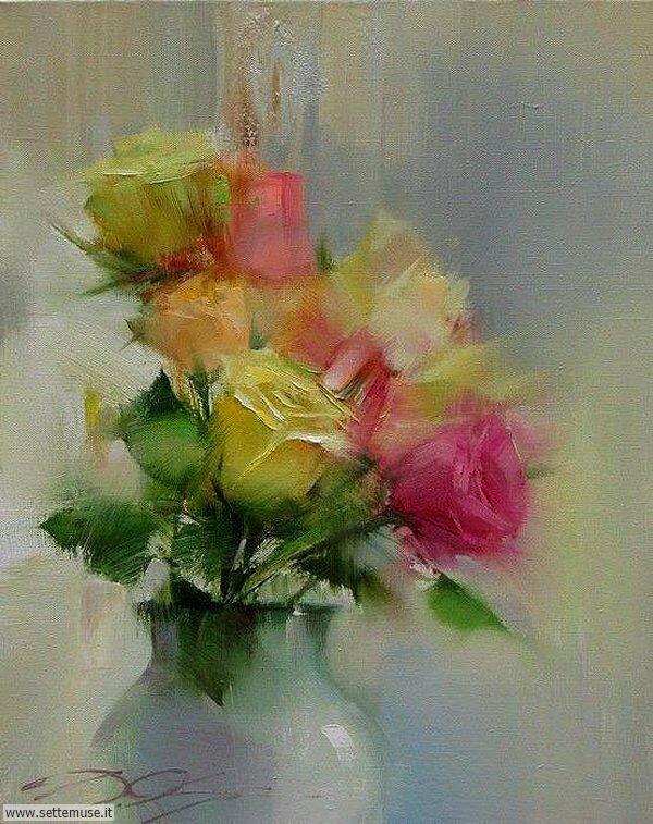 vasi di fiori Denis Oktyabr