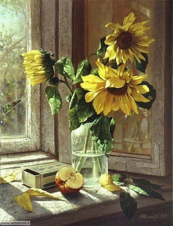 vasi di fiori Dmitry Annenkov