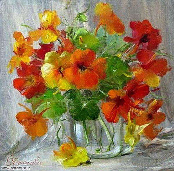 vasi di fiori Elena Perminova 2