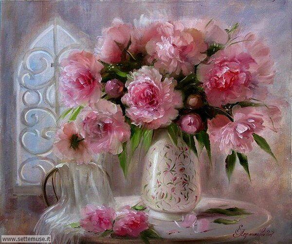 vasi di fiori Elena Perminova 3