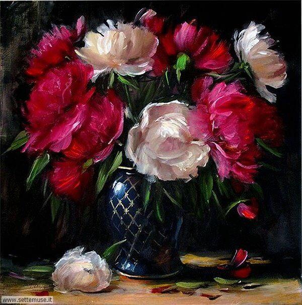vasi di fiori Elena Perminova