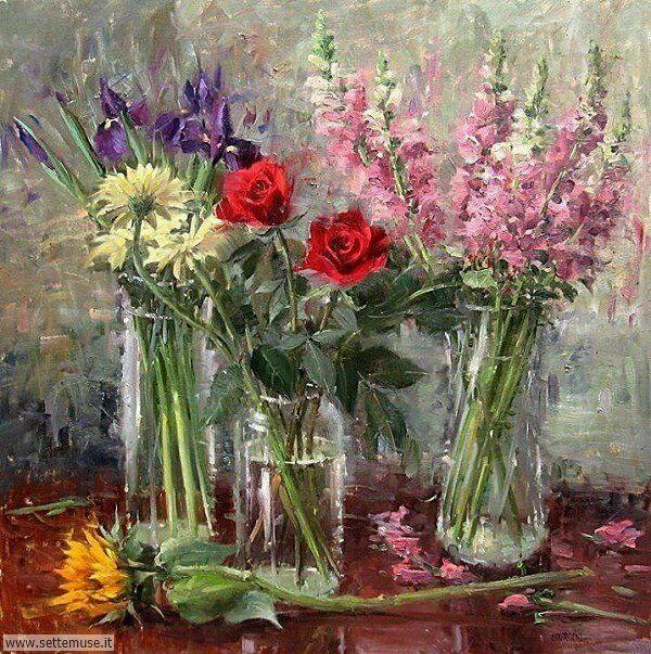 vasi di fiori Eugene J. Paprocki