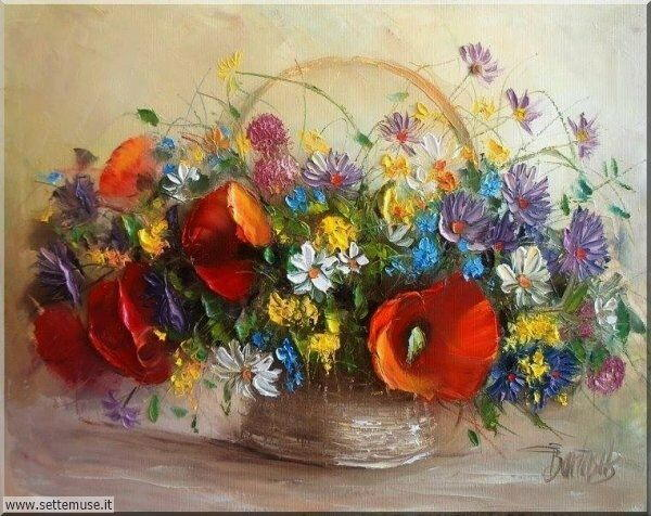 vasi di fiori Ewa Bartosik