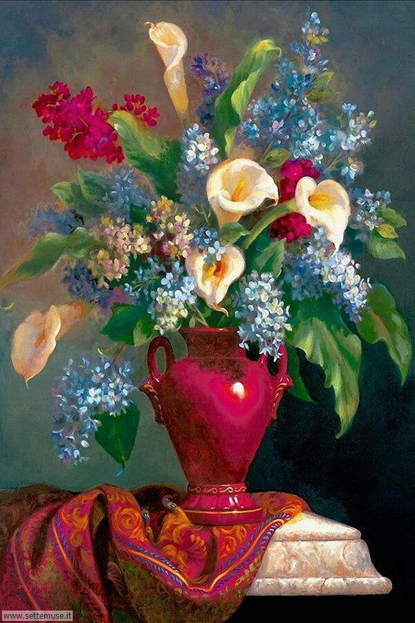 vasi di fiori Fran Di Giacomo