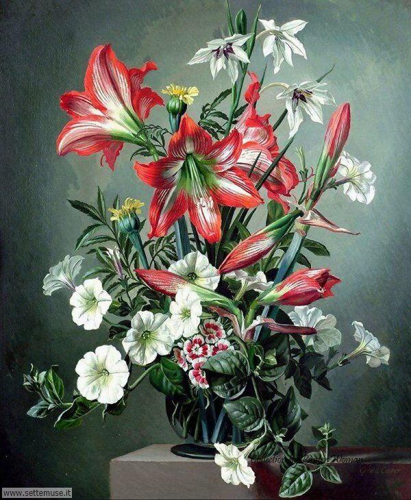 vasi di fiori Gerald A. Cooper