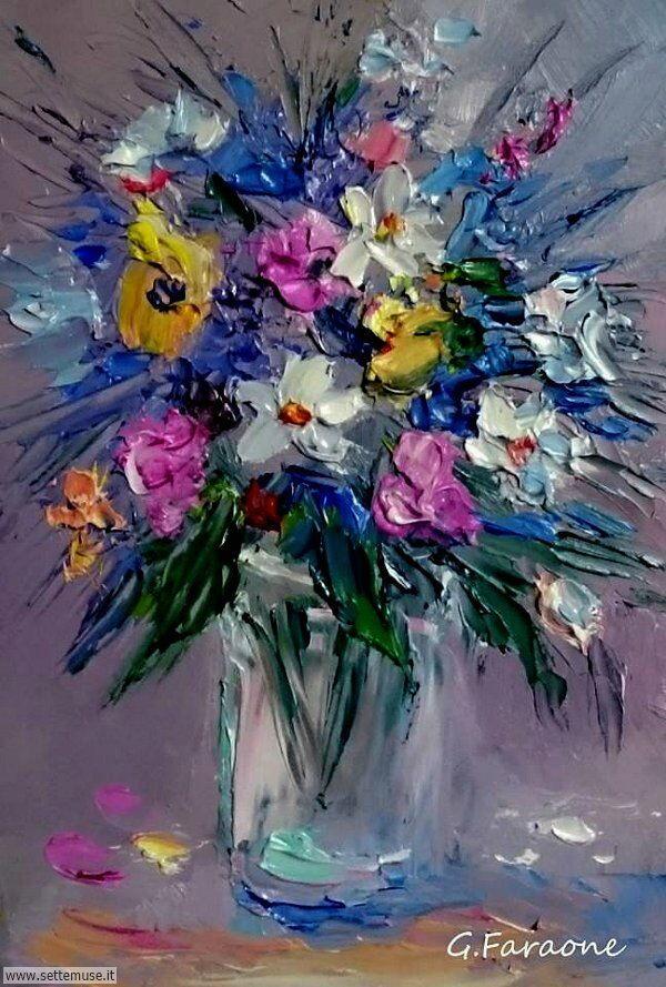 vasi di fiori Giuseppe Faraone