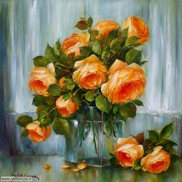 vasi di fiori Heinz Scholnhammer