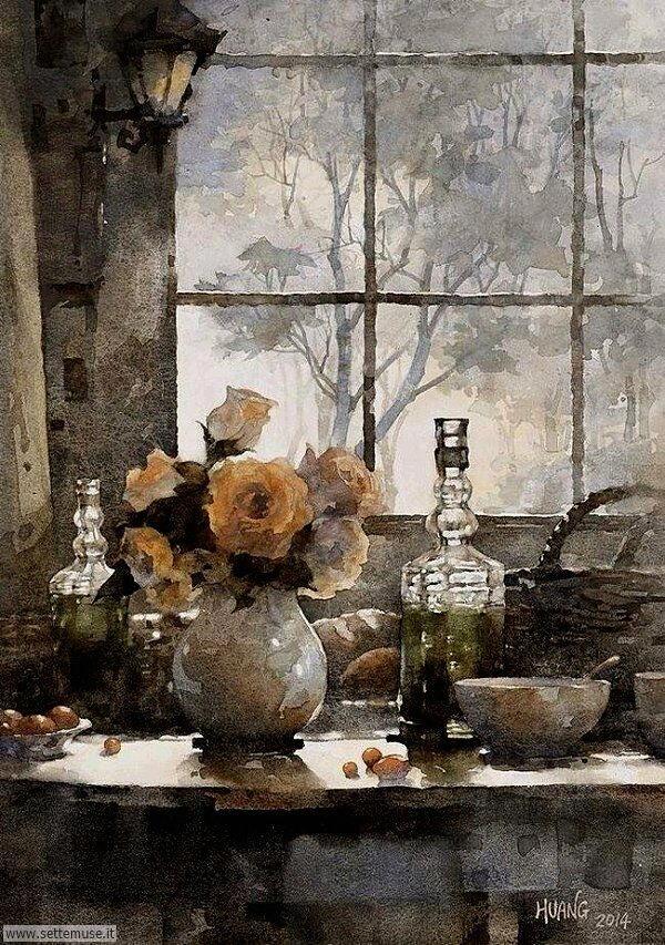 vasi di fiori Huang Hsiao-Hui