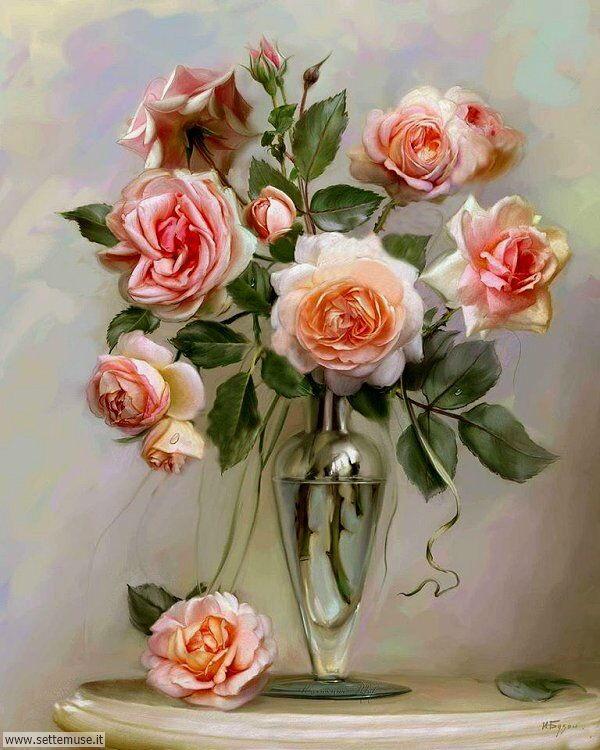 vasi di fiori Igor Buzin