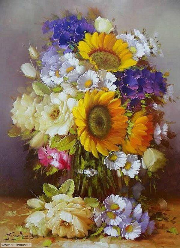 vasi di fiori Jorge Maciel