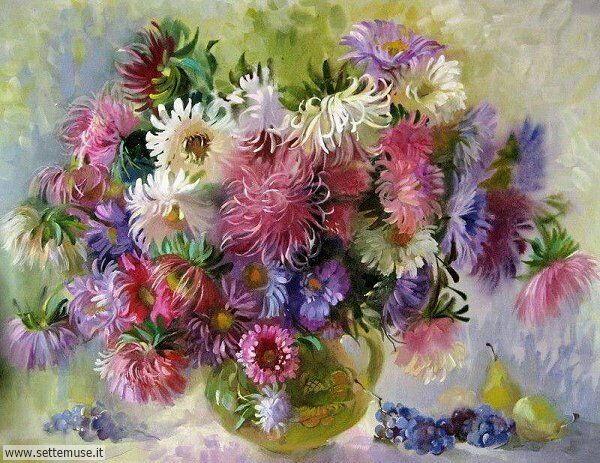 vasi di fiori Natalia Zakrevskaya