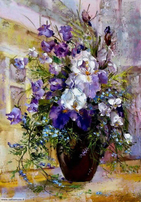 vasi di fiori Oksana Kravchenko