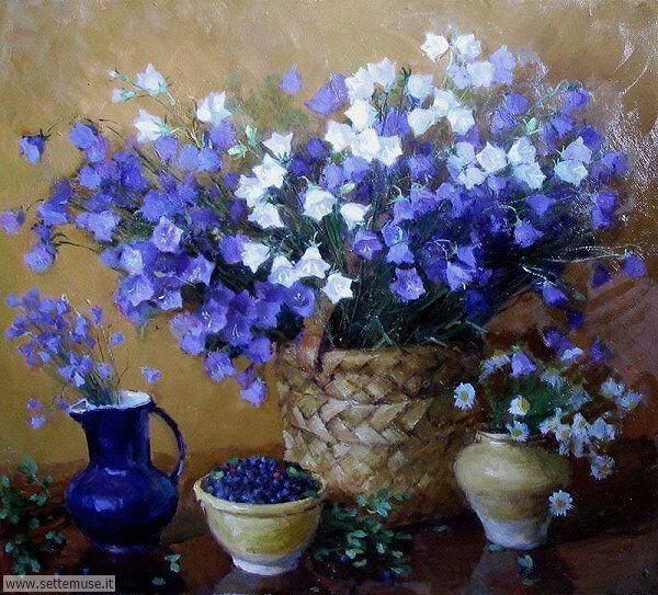 vasi di fiori Olga Kalshnikova